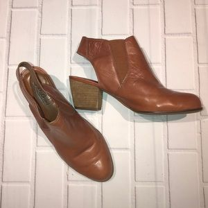 Lucky Brand Sling Back Booties